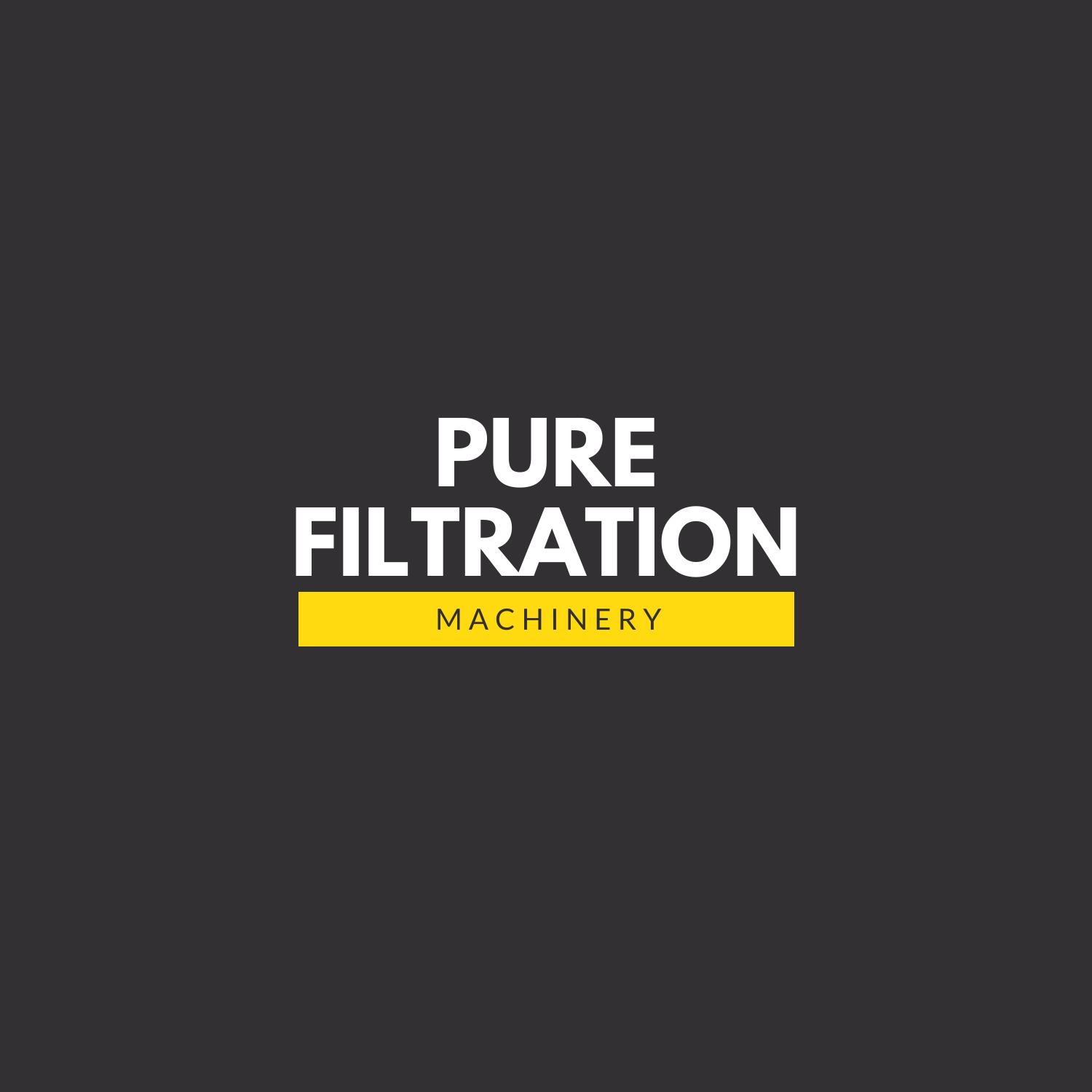 Pure Filtration Machinery